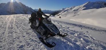 Noleggio motoslitte in Val di Scalve